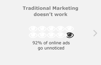 Traditional Marketing doesn't work