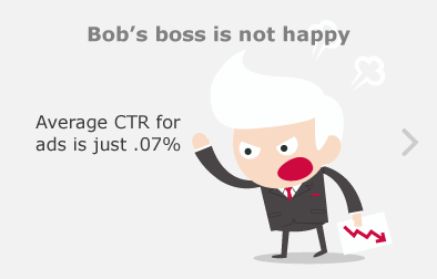 Bob's boss is not happy