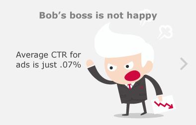 Bob's boss is not happy