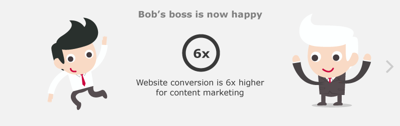 Bob's boss is now happy